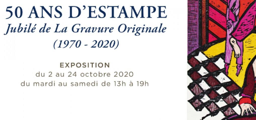 50 ans d'estampe - La Gravure Originale