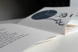 le vent sur la pierre - livre de poèmes et linogravures